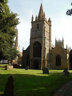 Evesham, St Laurence's Church. Photo by I. Lapa