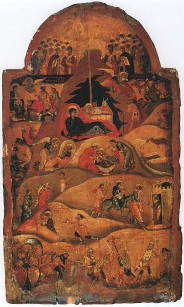 Икона. Конец XI - нач.XII в. Константинополь. Монастырь св.Екатерины, Синай