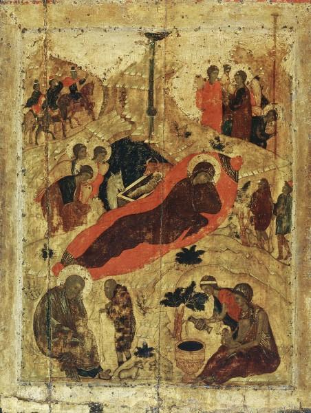 Икона из праздничного чина Благовещенского собора Московского Кремля. 1405 г.