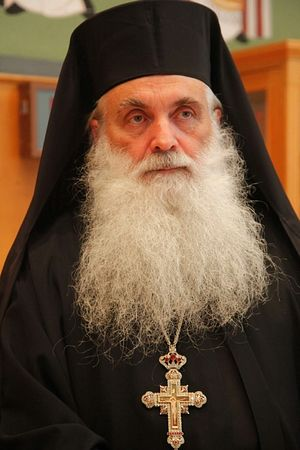 Архимандрит Нектарий (Антонопулос), ныне митрополит Арголидский
