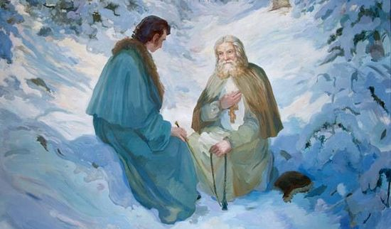 Беседа преподобного Серафима с Николаем Мотовиловым