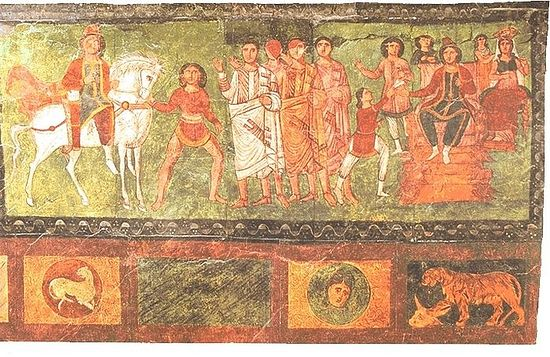 """La iconografía cristiana en las antiguas """"iglesias domésticas"""" - siglos I al IV 4"""