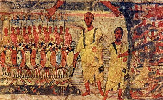 """La iconografía cristiana en las antiguas """"iglesias domésticas"""" - siglos I al IV 5"""