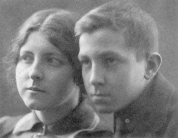 Георгий и Надежда Ансимовы, около 1937 года