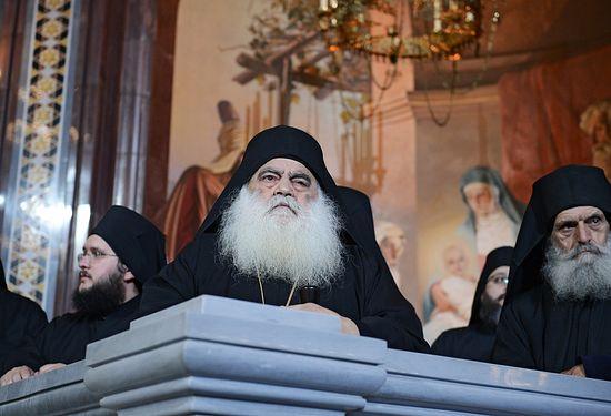 Архимандрит Парфений — игумен монастыря Святого Павла
