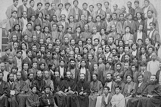 Святитель Николай Японский и православные японцы