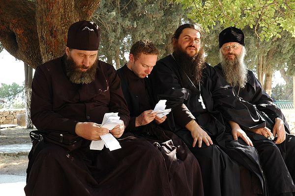 На Святой земле, 2005. Фото: иером. Игнатий (Шестаков)
