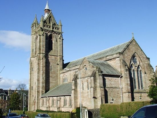 St. Columba's Church in Kilmacolm, Scotland.