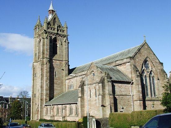 Церковь св. Колумбы в Килмакольме, Шотландия