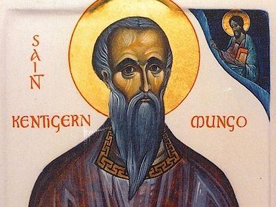 Святитель Кентигерн (Мунго) Стратклайдский, епископ Глазго, чудотворец