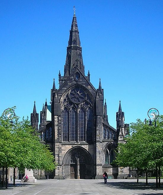 St. Kentigern's Cathedral in Glasgow