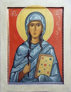 Holy Equal-to-the-Apostles Nina.