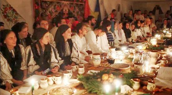 Фото с Рождественского молодежного (или зимнего национального) лагеря в монастыре Оаша
