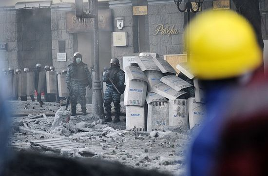 Kiev, January 25, 2014. (AFP Photo/Genya Savilov)