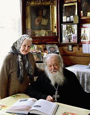 Протоиерей Валериан Кречетов с матушкой Натальей Константиновной