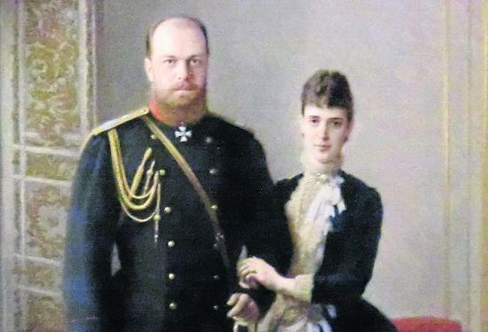 Dagmar with her husband, Emperor Alexander III