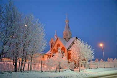Церковь во имя свв. мцц. Веры, Надежды, Любови и матери их Софии г. Североморска