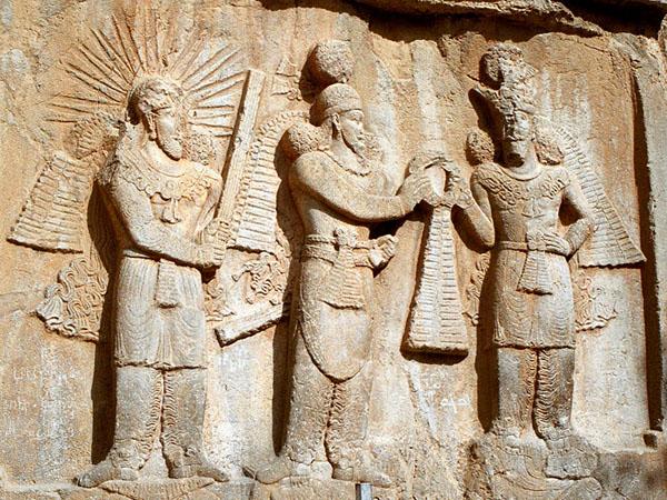 Сасанидский рельеф