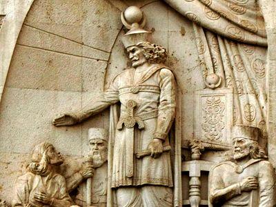 Война святого императора Юстиниана с персидским шахом Хосровом