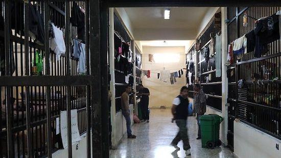 Тюрьма в Триполи, Ливия