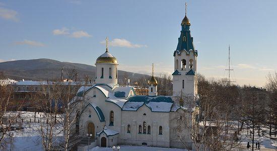 Собор Воскресения Христова г. Южно-Сахалинска
