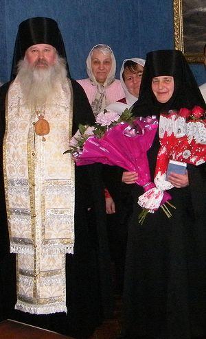 Монахиня Людмила в день монашеского пострига