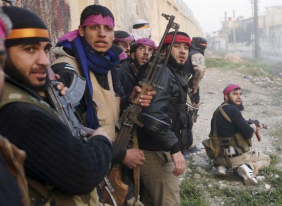 Сирийские «повстанцы»