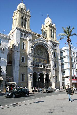 Собор святого Викентия де Поля, Тунис, Тунис