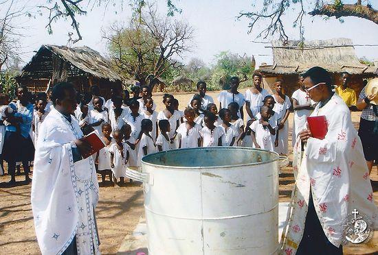 Крещение на Мадагаскаре