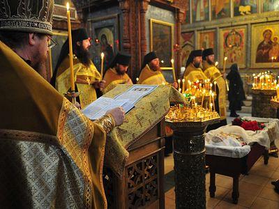 Слово на отпевании главного ктитора московского ставропигиального Сретенского монастыря