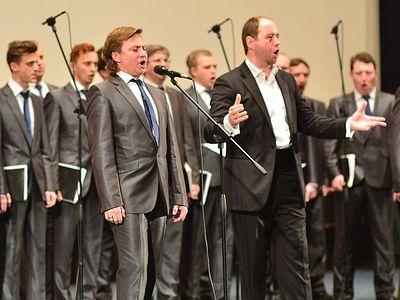 Праздничный концерт хора Сретенского монастыря в Доме кино