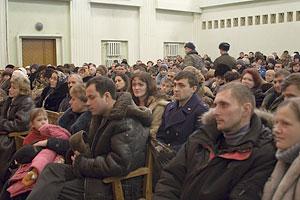 Военная база «Украинка». Перед выступлением
