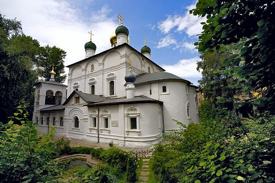 The Church of the Vladimir Mother of God, Sretensky Monastery.