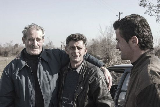 Вукое с албанцем и его сыном
