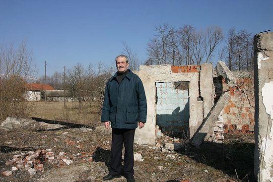 Вукое Маркович в родном селе. Фото: Н. Батраева / Православие.Ru