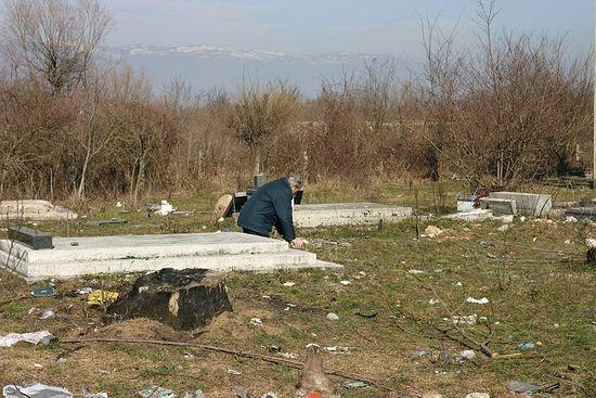 На сербском кладбище. Фото: Н. Батраева / Православие.Ru