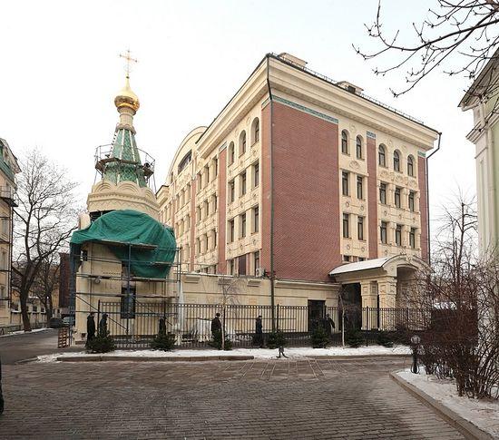 Здание семинарии