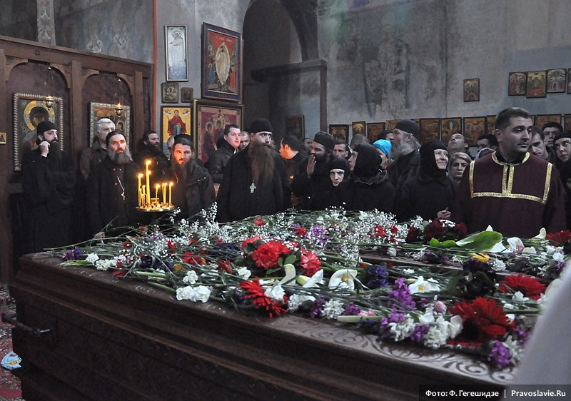 Обретение мощей бетанийских святых Иоанна и Георгия.  Фото: Фридон Гегешидзе / Православие.Ru