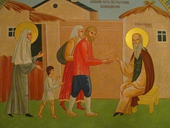 Новомученики и исповедники земли Казахстанской (фрагменты росписи Благовещенского собора в г. Павлодар)