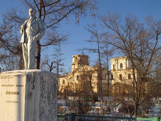 Руины Троицкого собора в Кяхте