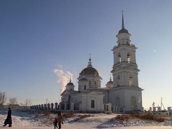 Храм Воскресения Христова в Кяхте