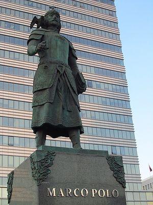 Памятник Марко Поло в Улан-Баторе