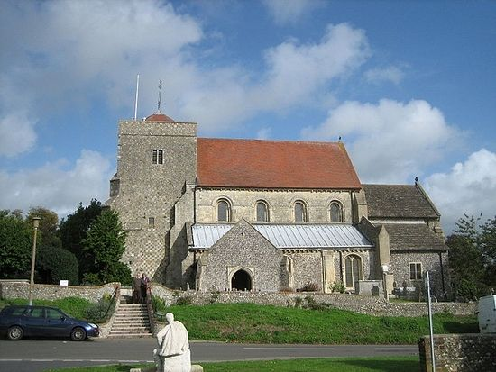 St. Andrew's Church in Steyning, West Sussex