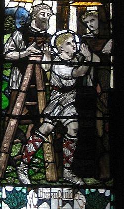 St. Cuthman - builder