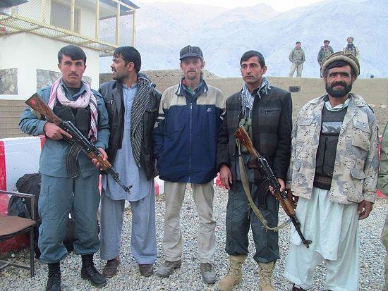 Полиция в Афганистане оберегала меня от талибов
