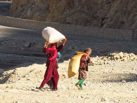 Маленькие афганцы