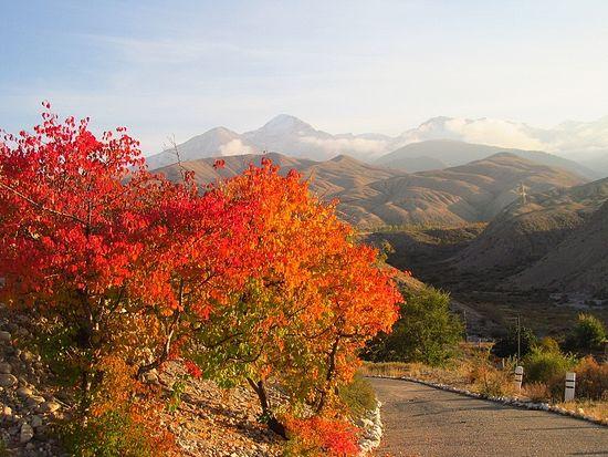 Киргизская осень