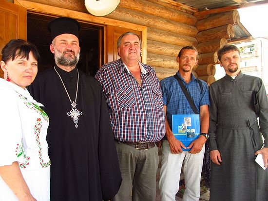 На храмовом празднике в церкви св. Ольги (г. Сатпаев, Центральный Казахстан)