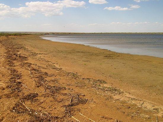Нынешний берег Аральского моря (Малый Арал)