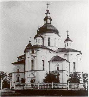 Церковь на родине Гоголя